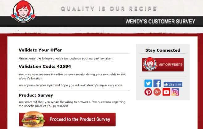 Talktowendys Survey Code