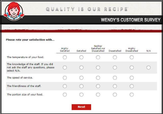 Wendyswantstoknow Survey