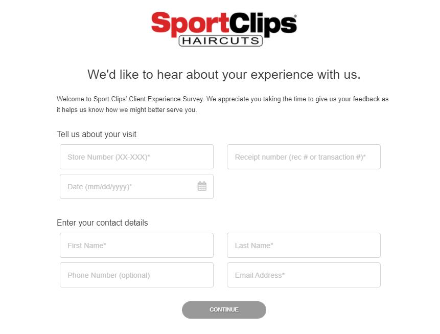 sportclips.com/survey