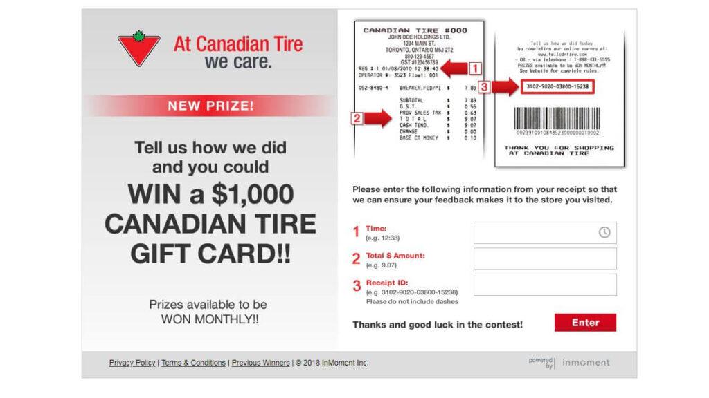 Canadian Tire Survey 2021