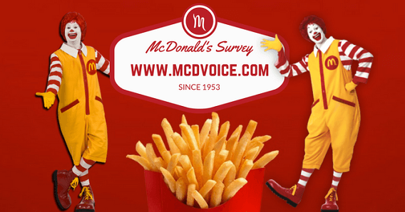 McDonald's Survey at Mcdvoice