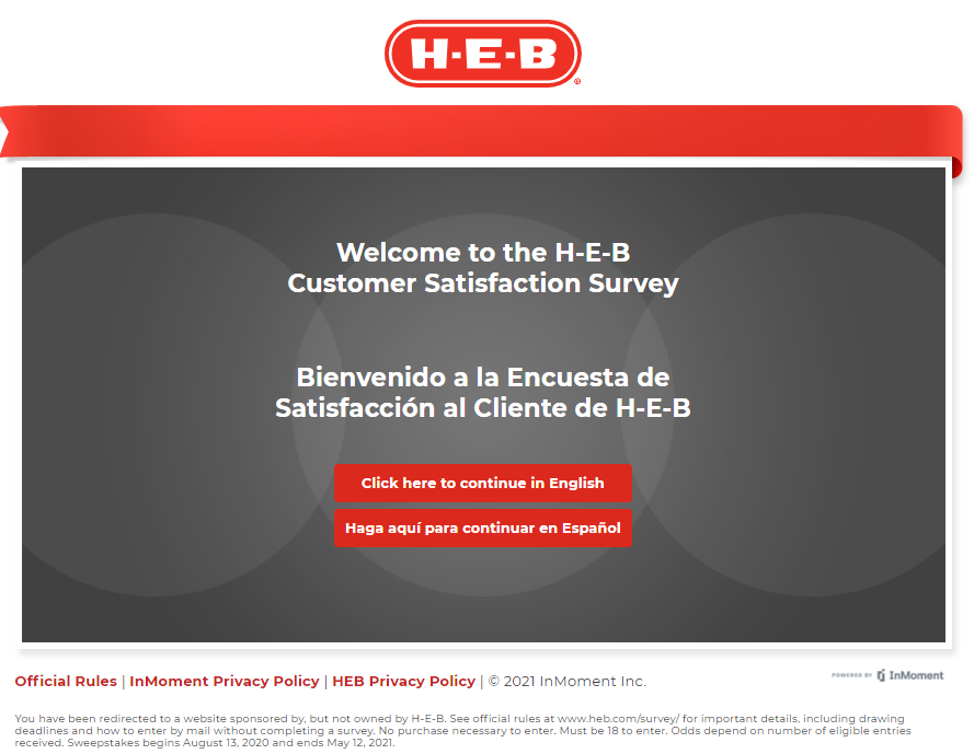 www.heb.com/Survey